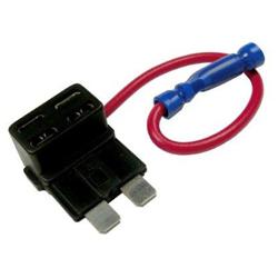 Přídavný pojistkový obvod pro jednoduché napojení napájení
